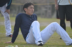 DSC_0098 (mechiko) Tags: 横浜ベイスターズ 120209 内藤雄太 横浜denaベイスターズ 2012春季キャンプ