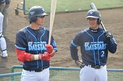 DSC_0588 (mechiko) Tags: 横浜ベイスターズ 120212 石川雄洋 渡辺直人 横浜denaベイスターズ 2012春季キャンプ