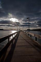 Sunset (ravish_rathod) Tags: light sunset nikon detroit d90 ravish