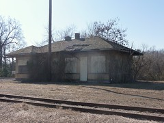 old depot Grand Junction, Tenn. (aliseawilliams) Tags: mississippi tennessee fayette hardeman