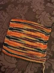 Dishcloth set (NikwaiJN) Tags: project knitting handmade knit hobby yarn dishcloth easy 2012 washcloth february2012