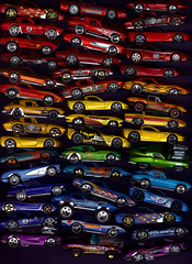 45 Hot Wheels Corvette Rainbow. (Steve Brandon) Tags: auto macro chevrolet car toy rainbow model automobile gm scanner stingray voiture scan chevy hotwheels corvette  mattel toycar modelcar chevroletcorvette generalmotors corvettestingray chevycorvette    diecastmetal    bolides