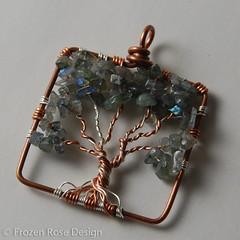 12.04-1_LRG (Frozen Rose Design) Tags: trees square jewelry 1204 labradorite frd smallsquare