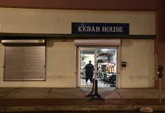 Kebab House - Trenton NJ (Blake Bolinger) Tags: city window night restaurant newjersey nj mercercounty trenton kebabhouse
