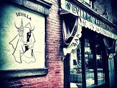Sevilla Restaurant - Greenwich Village, New York City (Sylvia Syracuse (Gothamiste) iPhone and Canon DSLR) Tags: nyc newyorkcity newyork square manhattan squareformat gotham newyorknewyork thebigapple newyorkscenes iphoneography instagramapp xproii uploaded:by=instagram bestof2012 gothamiste