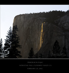 Horsetail Fall II (CircadianReflections Photography) Tags: park travel nature landscapes nikon national yosemite nikkor 2012 80200mm february23 usnationalpark horsetailfall cs5 lr4 d700
