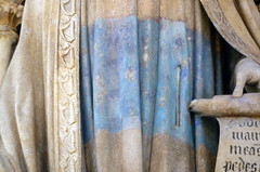 Detail of David's Gown: Claus Sluter, Well of Moses, 1395-1405