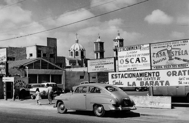 México Baja California Tijuana 1963 Catedral de Nuestra Señora de Guadalupe