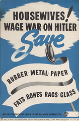 Housewives! Wage war on Hitler (Toronto Public Library Special Collections) Tags: canada poster support war factory propaganda labor canadian ephemera management posters ww2 labour worker strength ww1 troops worldwar recruitment canadianexpeditionaryforce wareffort
