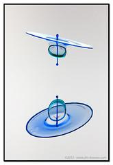 Levitate Me #8874 | 2012 - www.liquids-in-motion.com/Corbis (IR Cincy Jim (Liquids-in-Motion)) Tags: macro water speed drops high drop fountains waterdrops liquid collisions highspeed collision co