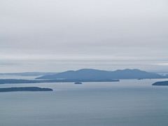 San Juan Islands view from Oyster Dome (Urban Disturbance) Tags: usa washington hiking pacificnorthwest oysterdome chuckanutdrive chuckanutmountains