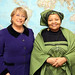 UN Women Executive Director Michelle Bachelet meets with Lulama Xingwana, Minister of Women, Children and People with Disabilities of the Republic of South Africa