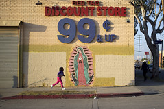 99 & up (susan catherine) Tags: tree losangeles kid alone virgin ourladyofguadalupe