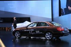 2012 Geneva Motor Show - Mercedes E300 Bluetec...