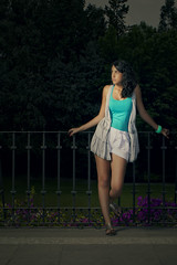 Daniela 3 (EUGENIO SILICEO) Tags: city fashion garden mexico df moda jardin teen teenager daniela barajas eugenio siliceo