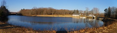 Panorama 3 Woodtick Recreation area (shutterbroke) Tags: lake swimming pentax ct spot reservoir area optio recreation wolcott scoville woodtick ws80