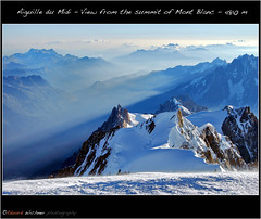 Climbing the Mont Blanc ( Eduard Wichner) Tags: sunset sea sky panorama mountains cute water sunshine night sunrise trekking river dark spectacular lens stars landscape waterfall nice nikon funny long exposure flickr stitch