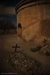 Bygones be bygones (Dave Arnold Photo) Tags: park arizona usa church cemetery grave us photo nationalpark memorial catholic cross image god jesus tombstone colonial picture az pic images historic spanish national photograph mission gravesite ariz tumacacori spanishmission westernus davearnold uspark darnold davearnoldphotocom cemetryplot