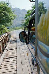Bridge on Highway 8 (keithbcg) Tags: bridge car automobile laos songthaew bolikhamsai