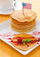 18/52 Pancakes (Xisco Bibiloni) Tags: food week18 nikon flash comida nikkor reflector 2012 iluminacion 2470mm d90 tortitas strobist yongnuo yn565ex 522012 52weeksthe2012edition 52project2012 weekofapril29