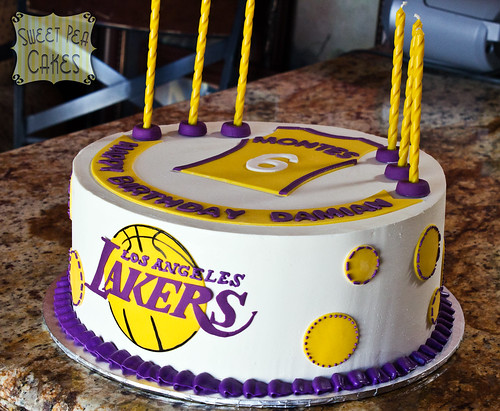 Lakers 6th Birthday