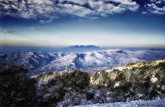 Recordant la nevada(Explore) (Lluis i Vinyet) Tags: naturaleza mountain snow nature landscapes nikon nieve natura paisaje catalonia montserrat catalunya montaa catalua muntanya neu valles paisatge lamola montcau santllorendelmuntilobac d7000