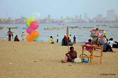 Girgaum Chowpatty (iamShishir) Tags: chowpatty girgaon girgaum
