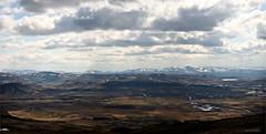 view from top (JorunnSjofn) Tags: summer sky panorama mountain nature canon iceland rocks hiking hike cliffs filter nd april esjan 2012 ontop 3shots nd103 jorunnsjofn