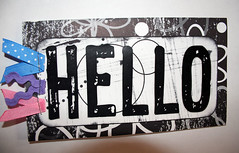 Hello (K (heart) Studio) Tags: hello cards kmk