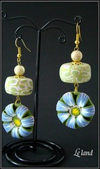 (1) (Le land) Tags: art handmade jewelry bijoux polymerclay fimo clay accessories earrings polymer