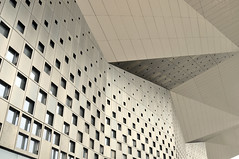 Squares and triangles (Roving I) Tags: china windows architecture triangles design shanghai squares walls eaves worldexpoexhibitionconventioncentre