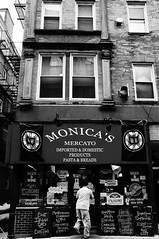 North End Mercato - Boston MA (RDoloresS) Tags: street boston blackwhite massachusetts north end mercato