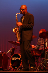 Paul Carr plays at Tour de Cure Jazz Concert (woodleywonderworks) Tags: music paul carr concert sink jazz quartet diabetes paulcarr tourdecure 2013 img4389