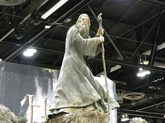 Weta Workshop Booth (KiwiHugger) Tags: gandalf wetaworkshop calgarycomicexpo