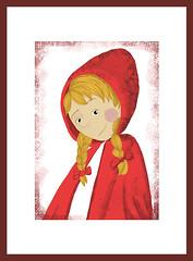 caputxeta (MaRta EsCobAr) Tags: tales infantil ilustracin illustracion martaescobar