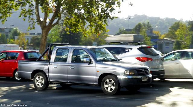 chile santiago cars autos mazda pickups camionetas carspotting mazdab2000 mazdabseries