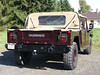 01 Hummer H1 4 door open top  1992-2006 PC-Verdeck drbg 01