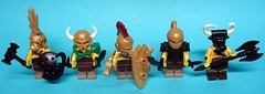 BW W2 Gladiators (ACPin) Tags: toys lego minifig acpin brickwarrior