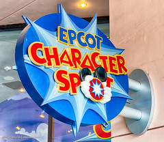 Disney EPCOT Character Spot HDR (Mickey Views) Tags: sign epcot character disney mickey disneyworld hdr worldshowcase hdrphotography characterspot disneyphotography disneyhdr mickeyviews