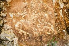 Fremont Indian Hieroglyphs #2 (Austin Hudson) Tags: texture utah outdoor hieroglyphs fremontindian