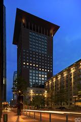 Japan_Center_Frankfurt (Sascha Selli) Tags: skyscraper germany deutschland frankfurt bank hochhaus wolkenkratzer