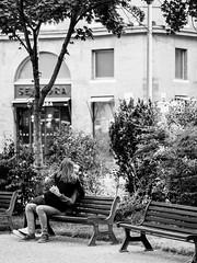 (Bart) Tags: street blackandwhite bw white black cute monochrome lost photography blackwhite thought noir candid strangers streetphotography olympus stranger nb micro charming f18 rue blanc lostinthought 43 noirblanc 75mm photoderue m43 mft ep5 micro43 microfourthirds microfourthird 43 75mm18 mzuiko mzuikodigital olympusep5 olympus75mmf18 mzuikodigitaled75mmf18