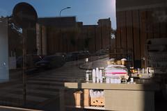 Saturday Morning (SlickCZ) Tags: street morning sun reflection window glass coffee shop day prague outdoor coffeemachine caffeteria