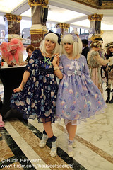 Vief and Annso (House Of Secrets Incorporated) Tags: amsterdam fashion events thenetherlands lolita egl underthesea twinning jfashion sweetlolita angelicpretty royaltropicalinstitute annso vief eglfashion eglcommunity jfashionevent undertheseaevent sweetmarine