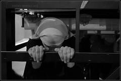 Costaleros (Guervs) Tags: bw espaa byn blancoynegro andaluca spain religion folklore tradition andalusia semanasanta jan costal cuadrilla tradicin lent holyweek beda costaleros religin ensayos franciscana penas cofrada hermandad cuaresma costalero sentencia