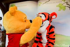 Pooh and Tigger (disneylori) Tags: disney disneyworld pooh winniethepooh characters tigger wdw waltdisneyworld magickingdom fantasyland disneycharacters nonfacecharacters meetandgreetcharacters