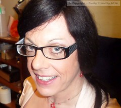 April 2016 (emilyproudley) Tags: crossdresser cd tv tvchix tranny trans transvestite transsexual tgirl tgirls convincing dress feminine girly cute glasses