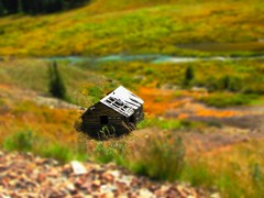 Abandoned doll house in the wild (jimsawthat) Tags: mountains rural miniature colorado 4x4 silverton trail enhanced sanjuanmountains