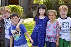 Second-Graders On The Last Day Of School (Joe Shlabotnik) Tags: violet tyler irene 2016 adamm michaelm afsdxvrzoomnikkor18105mmf3556ged june2016
