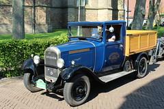 1922 Citron C 5 (Davydutchy) Tags: auto france classic car truck french automobile tour ride 5 may citron lorry bil oldtimer frise friesland c5 vrachtwagen lkw bolsward 2016 klassiker frysln elfstedentocht frisia vetern vrachtauto boalsert